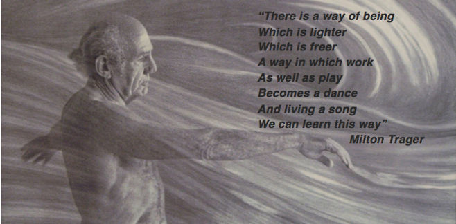 There is a way of being - Milton Trager.
