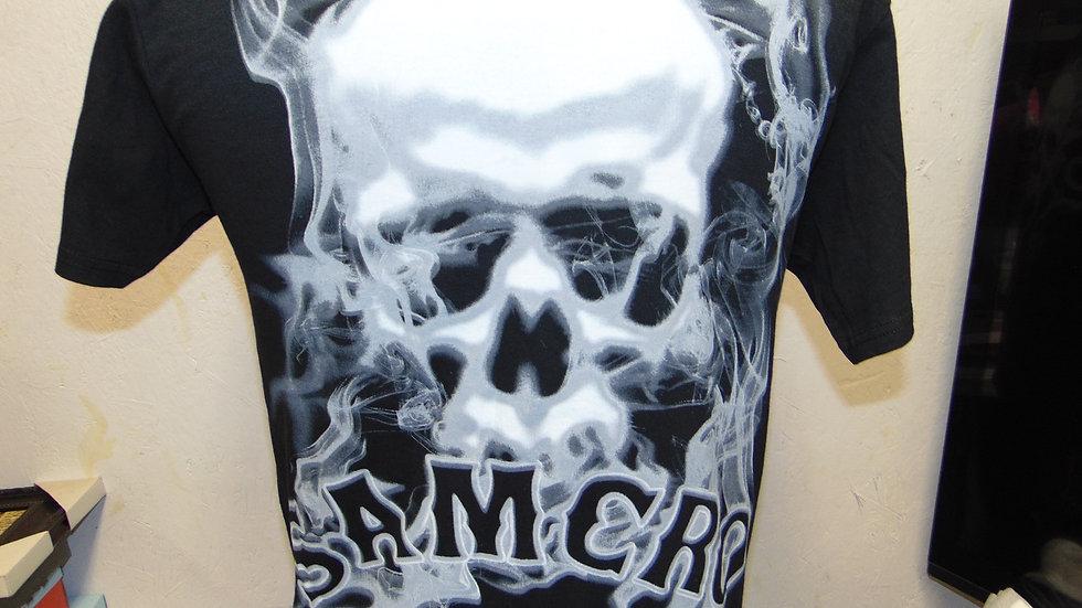 "Sons of Anarchy Samcro ""Smoke"" T-Shirt, Black"