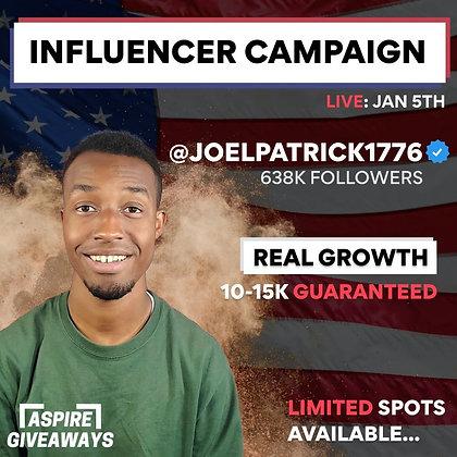 Joel Patrick Campaign Slot