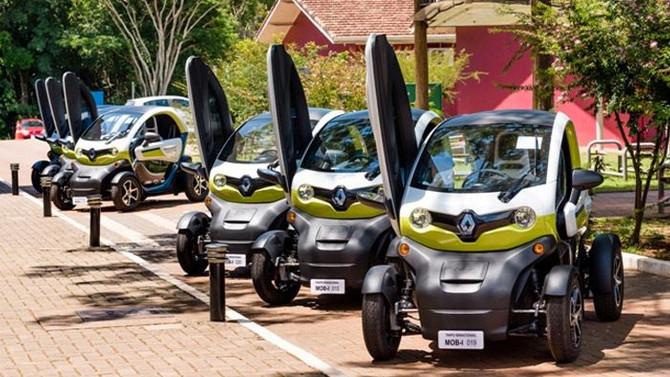 Itaipu inova com veículos elétricos