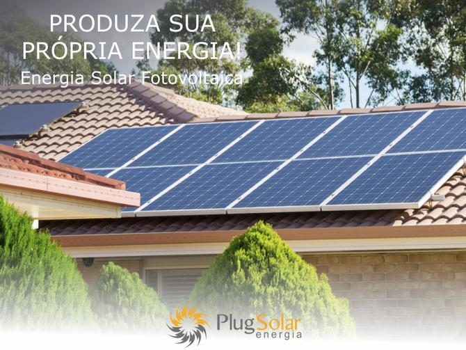 Painel solar para residência