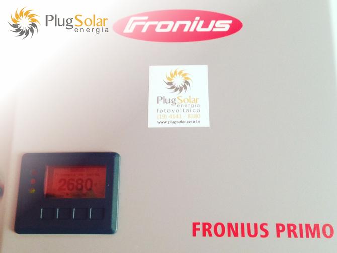 Gerador de energia elétrica solar residencial