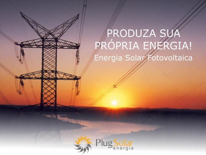 Painel solar para energia elétrica