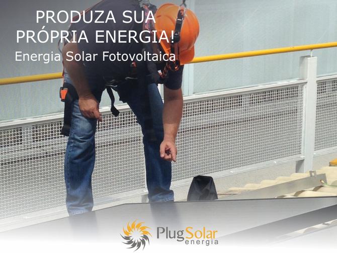 Gerador de energia elétrica solar