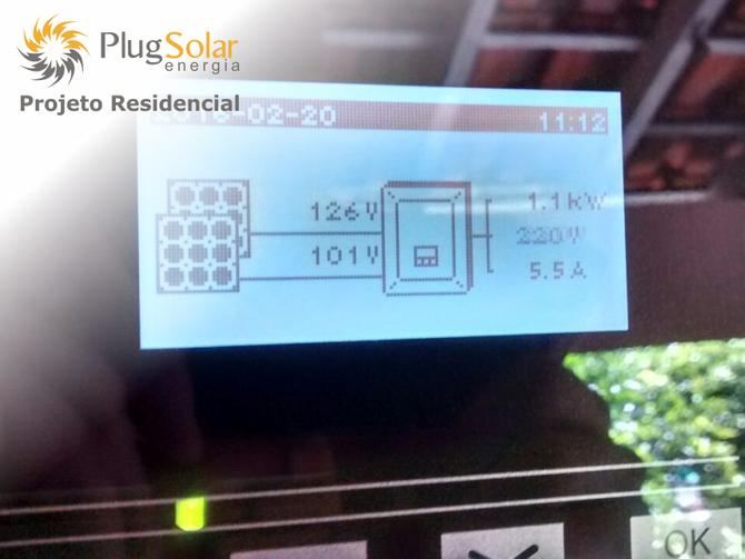 Sistema energia solar preço