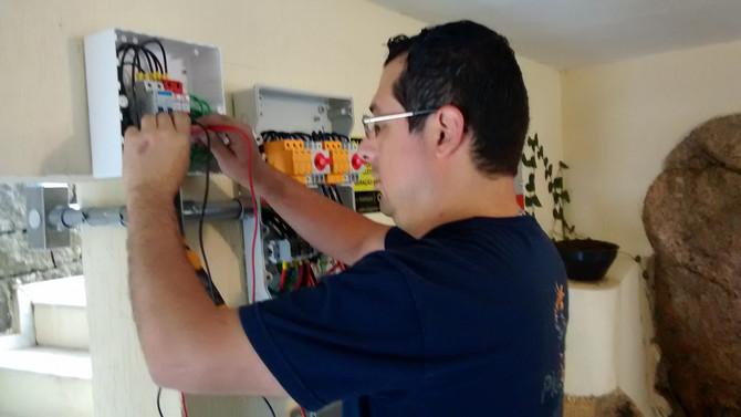 Segurança em instalações Fotovoltaicas