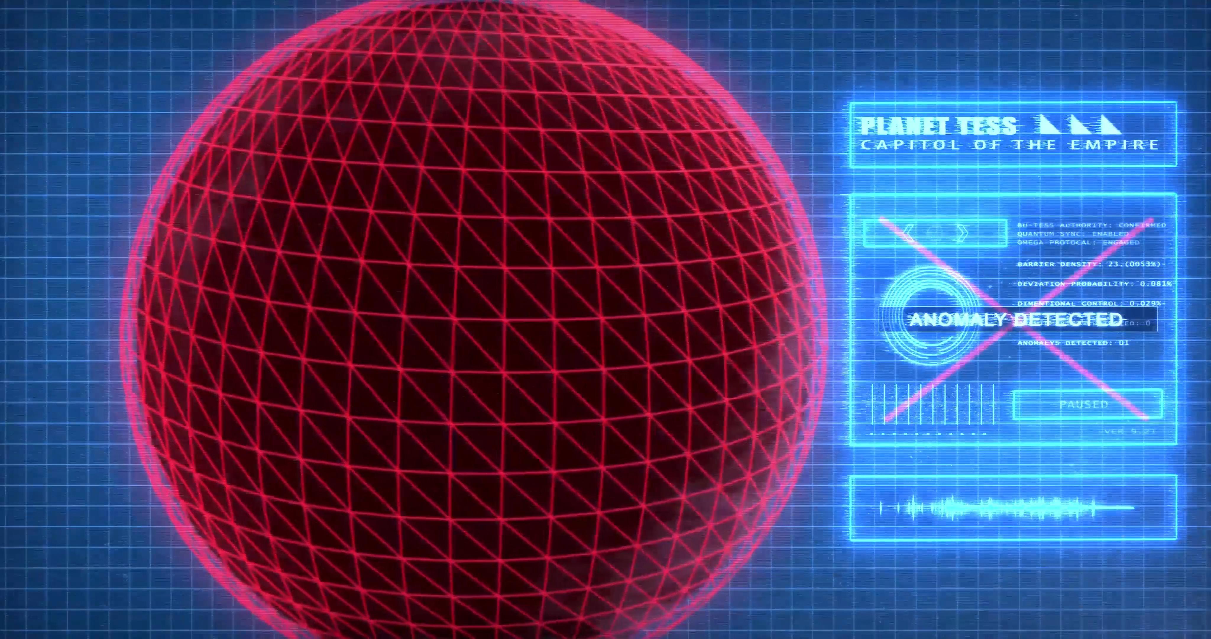 Digital Scan Motion Graphic - Interstellar Civil War