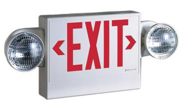 ECR Combo Exit/ Emergency Light
