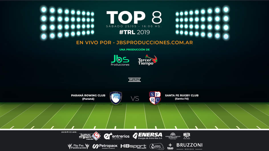 ROWING (Paraná) vs SANTA FÉ RC (Santa Fé) - TRL 2019 - TOP 8 -