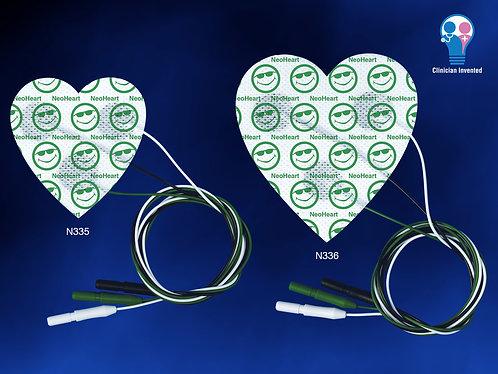 NeoHeart Radiolucent ECG Pad 3-Up Large box/20