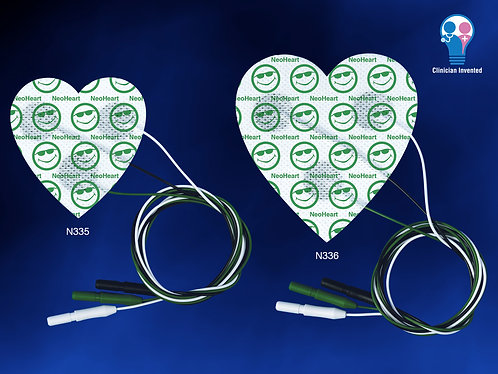 NeoHeart Radiolucent ECG Pad 3-Up Small box/20