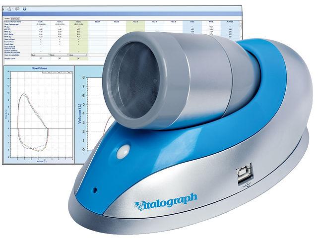 Trimedco PFT pneumotrac spirometer