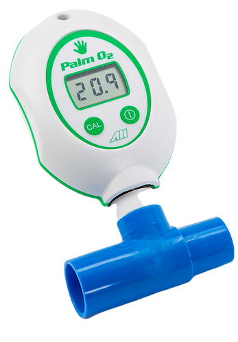 Palm Oxygen Analyzer with Cable and Sensor