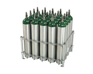 Trimedco Cylinder Rack 20 E Cylinders
