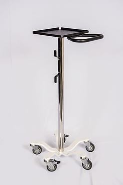 trimedco 1064LCG  Rolling Standwith Low  Center of Gravity & Small Tray