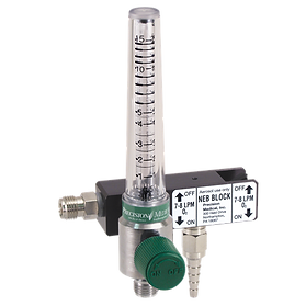 trimedco neb block with flowmeter precision medical