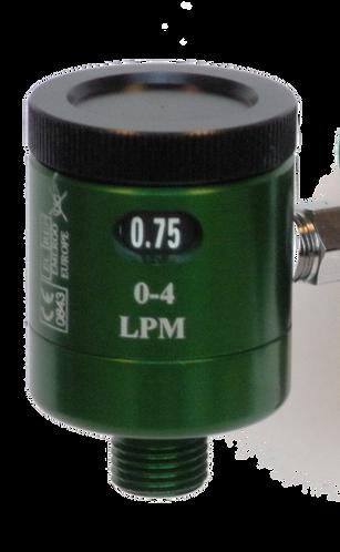 Flotec Oxygen Flowmeter, 1/32-4 LPM