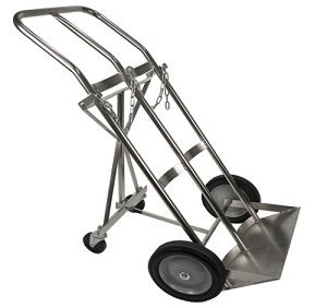 Dual Large H Cylinder Cart, Holds 2 H