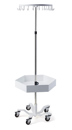 Leuko Stand 20 Hook with Tray, each