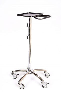 trimedco 1064  Rolling Stand  with Small Tray