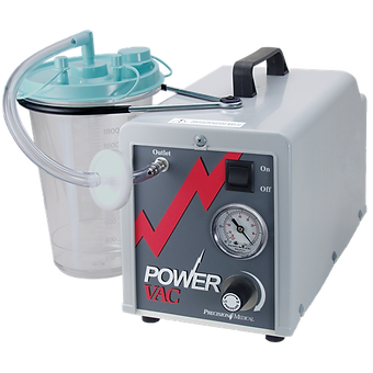 trimedco aspirator power vac precision medical