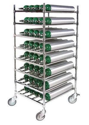 E Cylinder Rack, capacity 40