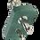 Thumbnail: Y Oxygen Flowmeter, Compact (0-15 L/min) Chemetron w/2 PTO