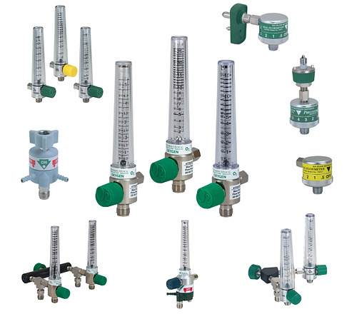 Trimedco Oxygen and Air Flowmeters Precision Medical