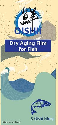 Oishii Dry Ageing Film For Fish ( 5 pc)