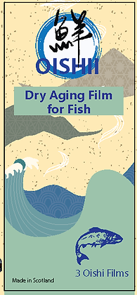 Oishii Dry Ageing Film For Fish ( 3 pc)