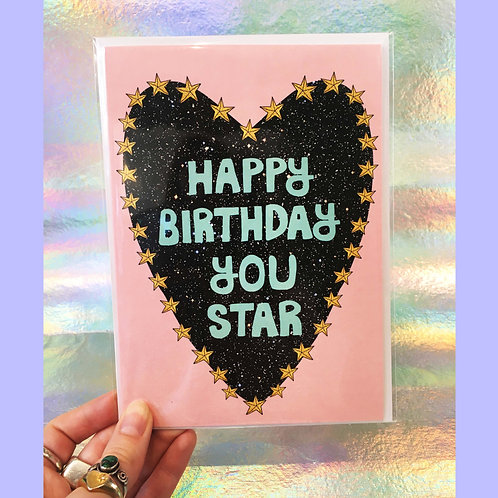 Happy Birthday You Star