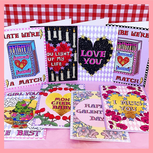 Love Bundle - 8 Cards