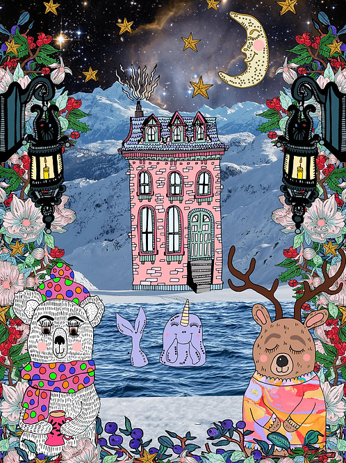 The Rose House & The Narwhal