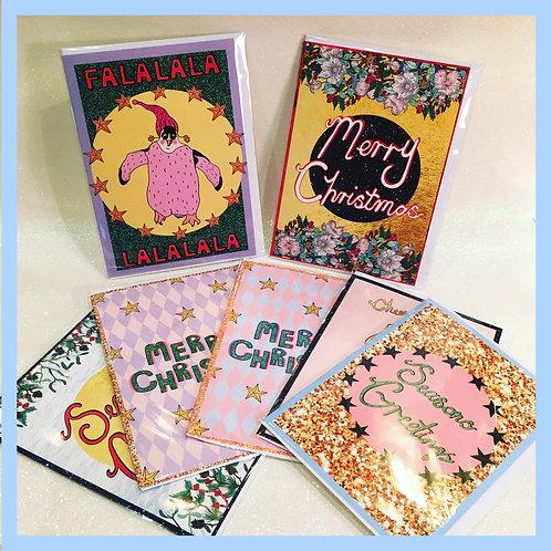Christmas Bundle - 7 Cards