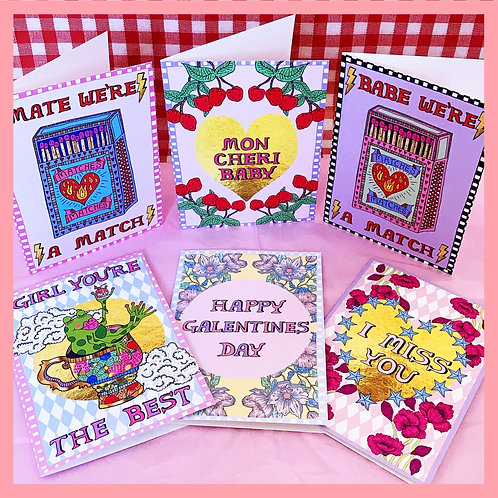 Love Bundle - 6 Cards