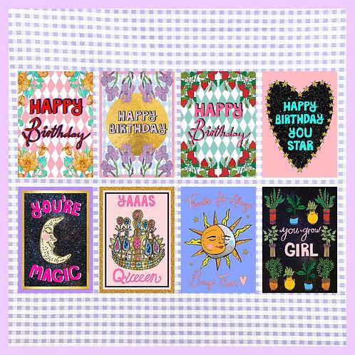 Greeting Card Bundle (8)