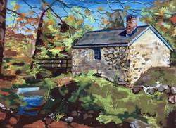 Autumn Stone House I