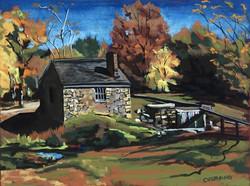 Autumn Stone House II