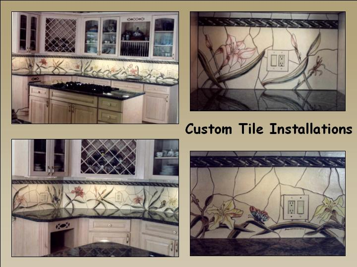 Custon Backsplash by Jim