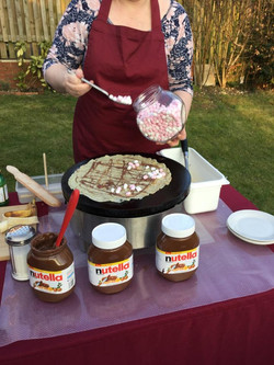 Marshmallow & Nutella Crêpe
