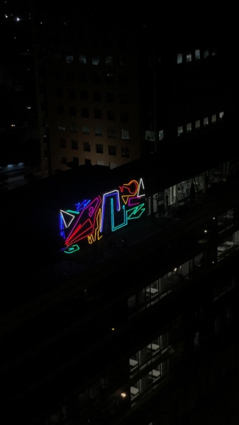 Spidertag - Mural de Luz