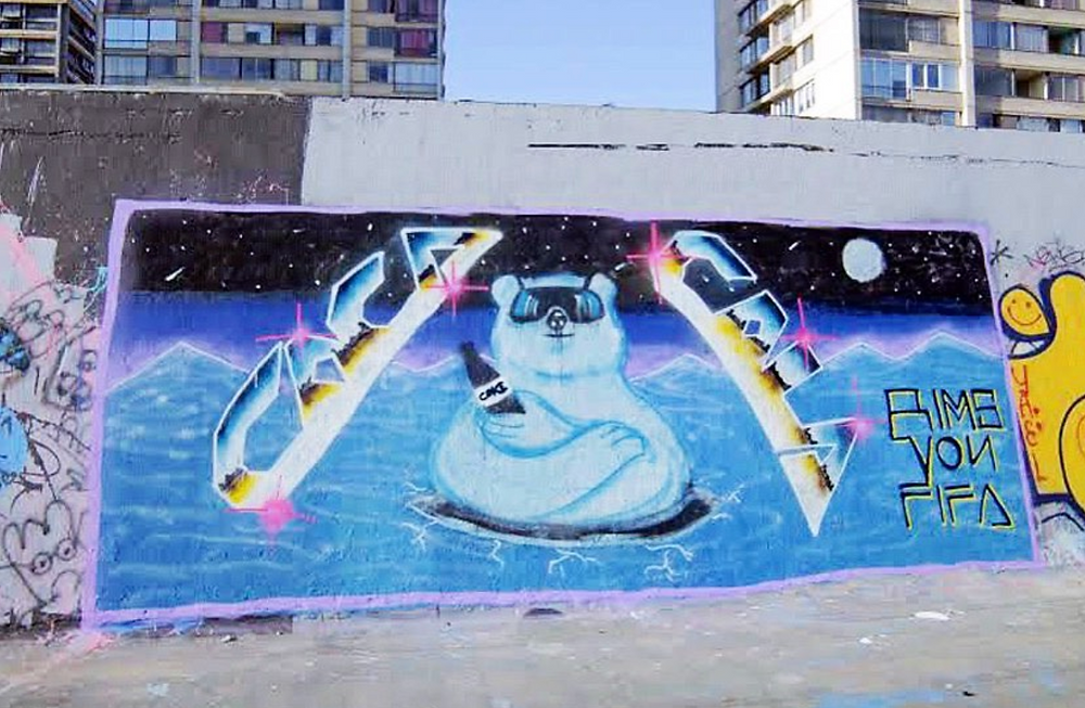 Anti styler graffiti