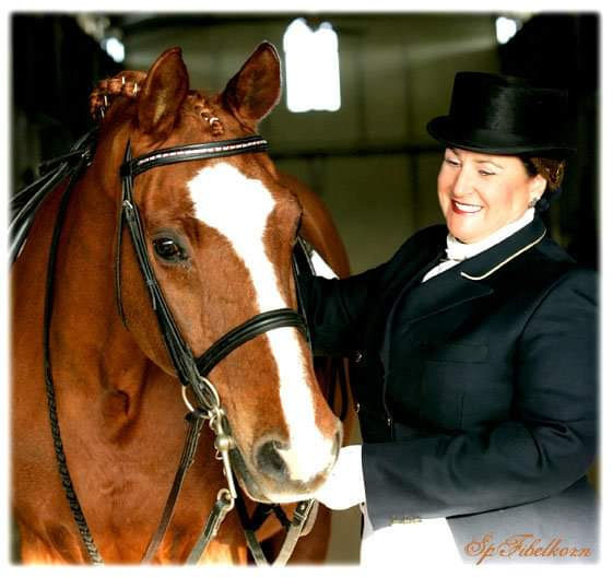 Susan With Bay Horse