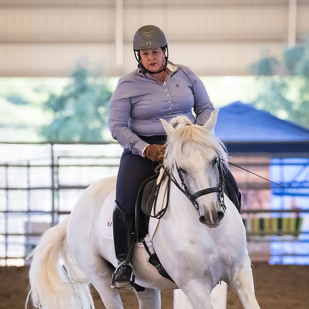 Susan On White Horse