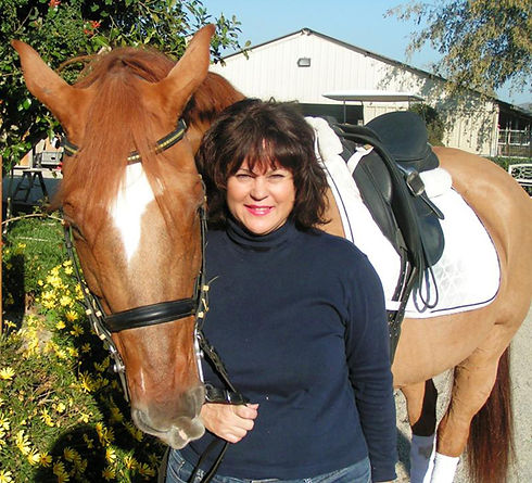 Colleen Walker with Her Horse