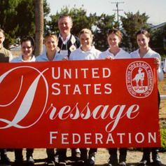 Group photo at United States Dressage Federation