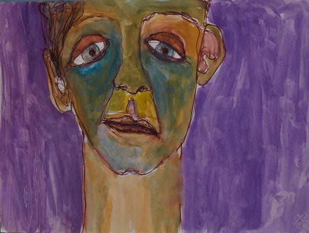 Man in Purple