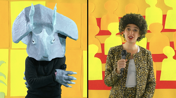 "Rachel Garber Cole, ""Questions for a Dinosaur"""