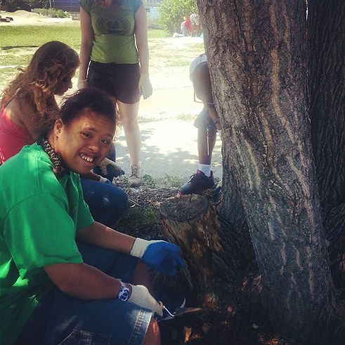 It's always a good day to care for a tree #tct2016 #treecaretuesday #treecare #nyc #summer