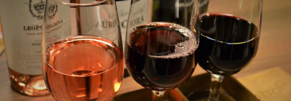 Flight de Vinhos